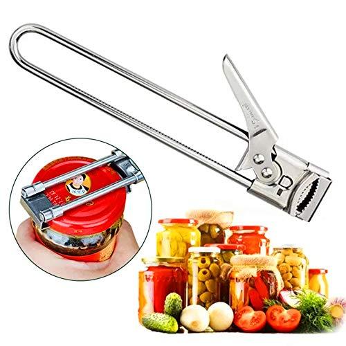 Apriscatole, accessori per apribottiglie barattolo manuale, apribottiglie multifunzione, apriscatole taglio laterale bordo liscio, apribottiglie barattolo manuale accessori da cucina (1 pz)