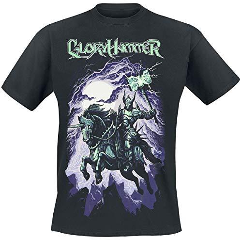 Gloryhammer Chaos Wizard Männer T-Shirt schwarz XL 100% Baumwolle Band-Merch, Bands, Nachhaltigkeit