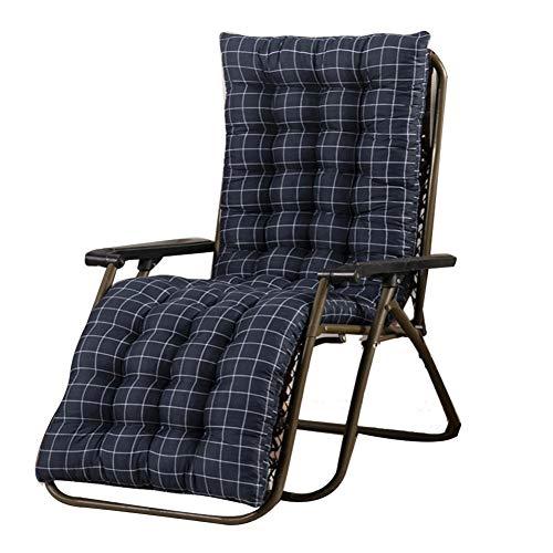 Seasaleshop Auflage Gartenliege Für Sonnenliege Liegenauflagen,Sofa Chaise Longue Recliner Kissen Für Innen-Außenhof, 48 170 8 cm