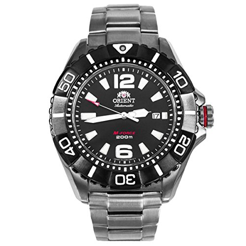 Orient 47mm M-Force 22-Jewel Automatic Titanium Dive Watch with Sapphire Crystal DV01001B