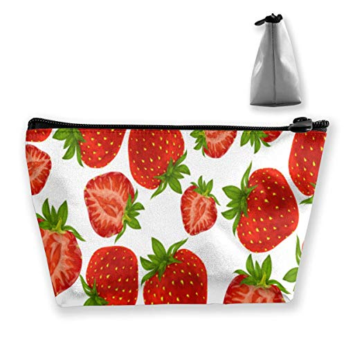 Fruit Strawberry Portable Makeup Receive Bag Storage Large Capacity Bags Hand Travel Wash Bag