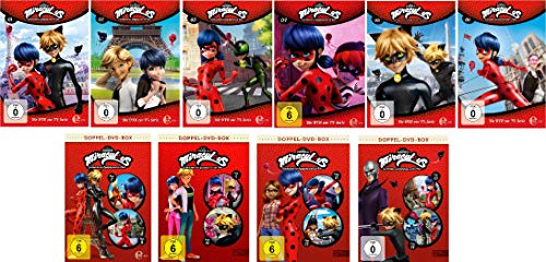 Miraculous - DVD 1-14 im Set - Deutsche Originalware [14 DVDs]