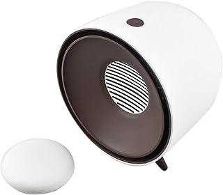 Calefactor De Aire Caliente,calefactores Electricos Bajo Consumo,Calefactor Ceramico,3 Segundos Calentamiento Rápido (Color : White)