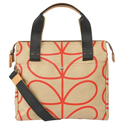 Orla Kiely Womens Zip Messenger Messenger Bag Multicolour (Stone)