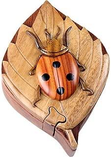 Lady Bug - Secret Wooden Puzzle Box