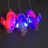 YTGOOD Electric Walking Singing Musical Light Pig Toy with Leash for Kids Boys Girls Without Battery Random Color