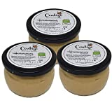 Hummus Ecologico - Tarro de 250 gr - Conservas Artesanales Contigo (Pack de 3 tarros)