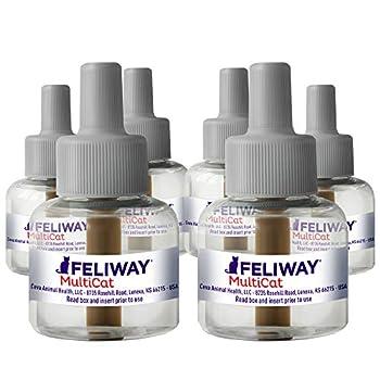FELIWAY MultiCat Calming Pheromone 30 Day Refill - 6 Pack