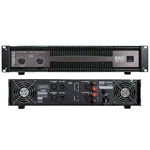 EMB Professional 7500W 2CH Power Amplifier EB7500PRO