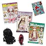 3 revistas de Muñecas de tela RUSAS + 1 tela + 1 Peluca...