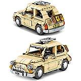 WSKL 814Pcs Classic Red Vintage Vehicle Building Blocks City Car Niños Juguetes Niños Regalos de cumpleaños