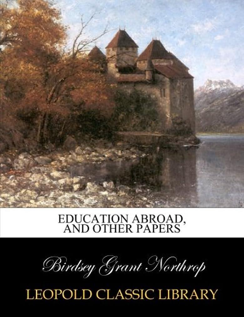 備品湿度敷居Education abroad, and other papers