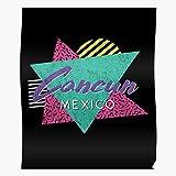 POUSADA 90S Souvenir Mexico Destination Cancun Travel Retro