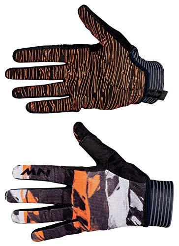 Northwave Air Fahrrad Handschuhe lang schwarz/orange 2020: Größe: L (9)