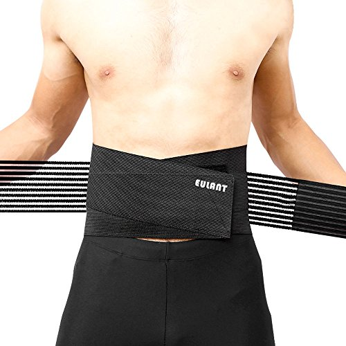 Sborter Rückenbandage,Rückenstützgürtel für Männer und Frauen, Lendenwirbelstütze Gürtel mit Stabilisierende Feder und Zuggurt zur effektvoller Schmerzreduktion und Haltungskorrektur, XL