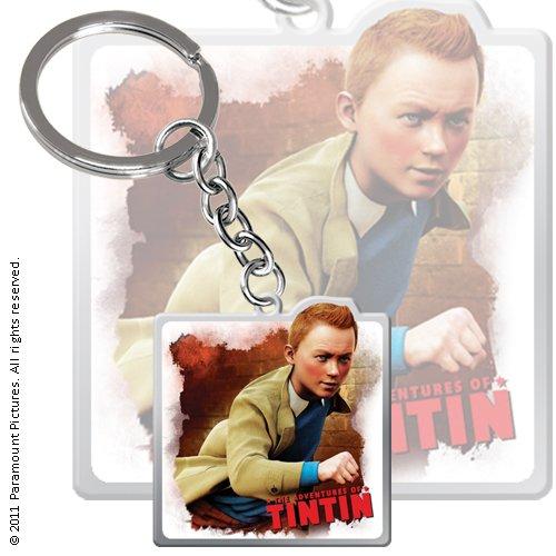 LES AVENTURES DE TINTIN - Porte-clés métal Tintin