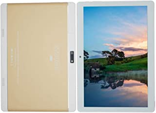 Atouch A101 10-inch 32GB ROM 2GB RAM 4G LTE Dual Sim Android Wi-Fi Tablet Gold Color