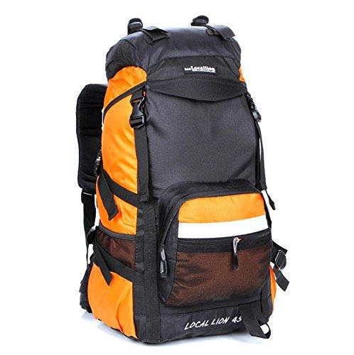 Alpinisme sac 45 l sac camping sacs à dos grande capacité sac à dos de randonnée , orange