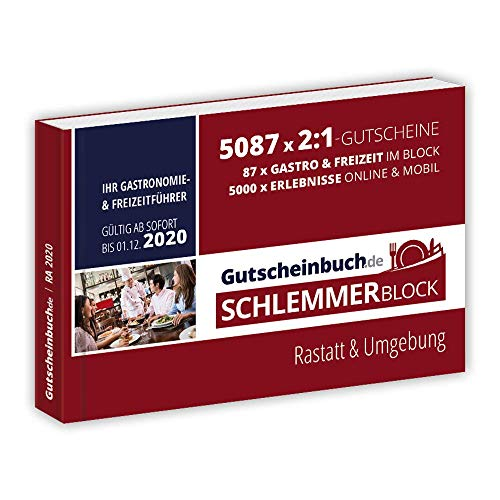 Gutscheinbuch.de Schlemmerblock Rastatt & Umgebung 2020