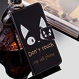 Qiaogle Téléphone Coque pour LG G5 / G5 Dual - Cartoon Painted PU Cuir Rabat Wallet Housse Case -...
