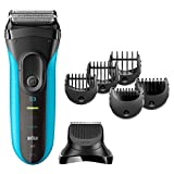 Braun 3010BT Wet & Dry Electric Shaver - S3 Shave & Style