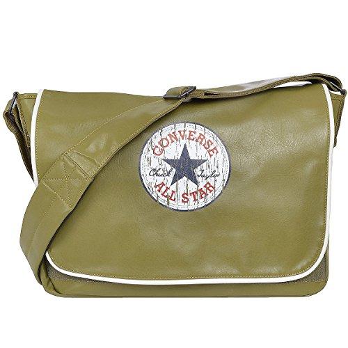 Converse Vintage Patch Shoulder - Bolso bandolera, color marrón, talla One Size