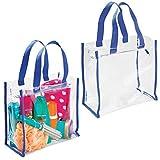 mDesign sac de voyage (lot de 2) pour transport d'accessoires – sac...
