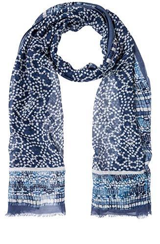 Olsen Scarf Woven, blau(blueindigo (40168)), Gr.