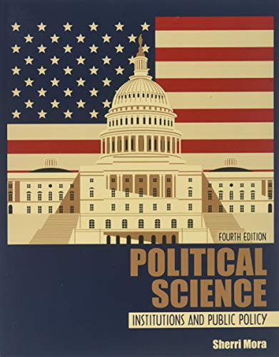 Political Science: Institutions and Public Policy