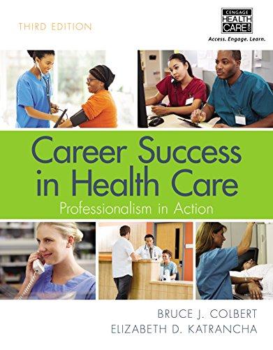 51IfNacwDvL - Career Success in Health Care: Professionalism in Action