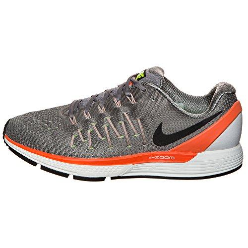 Nike Herren AIR Zoom Odyssey 2 Laufschuhe, White/Dark Obsidian/Reflective Silver, 42.5 EU