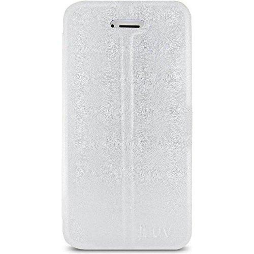 iLuv - Custodia in Neoprene per iPhone 5/5S, Colore: Bianco