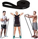 DESIGNED FOR LIGHT RESISTANCE EXERCISE: FITSY black loop resistance band is SPECIFICALLY designed for warms and light resistance exercises like squats, biceps curl, push ups, home fitness and mobility training etc. MUST HAVE BAND FOR ALL: Whether you...