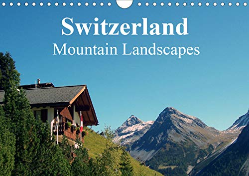 Switzerland - Mountain Landscapes (Wall Calendar 2020 DIN A4 Landscape): Swiss Dreams (Monthly Calendar, 14 Pages) (Calvendo Places) [Calendar] Schneider, Peter