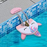 QRose Animal Saving Escape Ramp for Pool, Save Critters in Swimming Pool Device Handy, Floating Ramp Rescues Saving Frogs, Toads Animal Mice, Birds (Style-Unicorn)