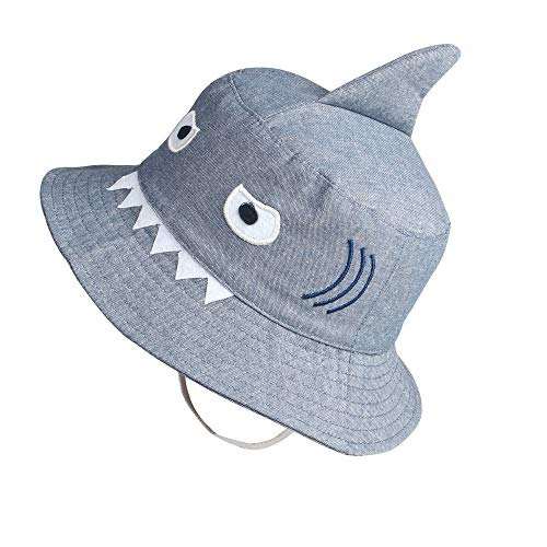 Shark Sun Hat for Kids Toddler Little Summer Bucket Hat...