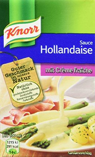 Knorr Servierfertige Hollandaise mit Crème fraîche Soße 250 ml