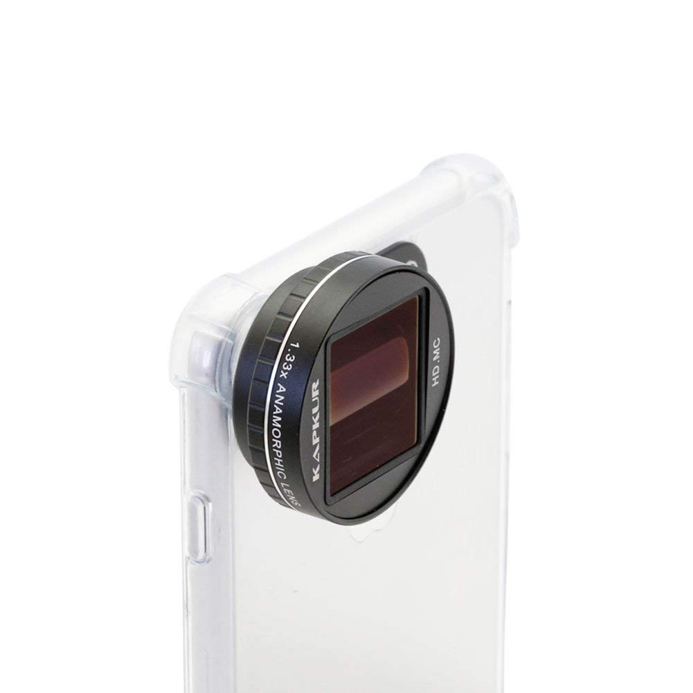 Kapkur Anamorphic Lens HD 4K 1.33X for Smartphone Shot by Filmic ...