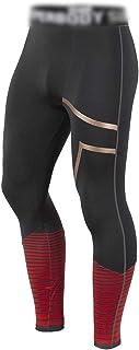 LUKEEXIN Men's Stripe Compression Pants Workout Baselayer Leggings Yoga Pants