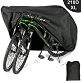 EUGO Bike Cover for 2 or 3 Bikes Outdoor...