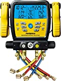 Fieldpiece SM480V - Four Port, Wireless SMAN Manifold with Micron Gauge and Yellow Jacket 22985...