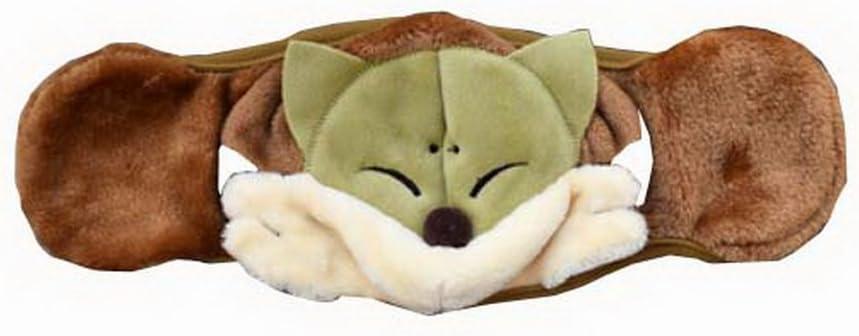 Black Temptation Útil Máscara de Invierno al Aire Libre con la orejera de Algodón Lindo Ciclismo Mask [Verde Fox]