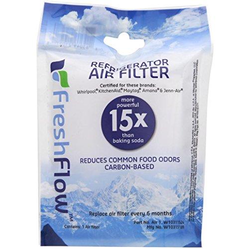 W10311524 دوامة الهواء FreshFlow الثلاجة فلتر الهواء