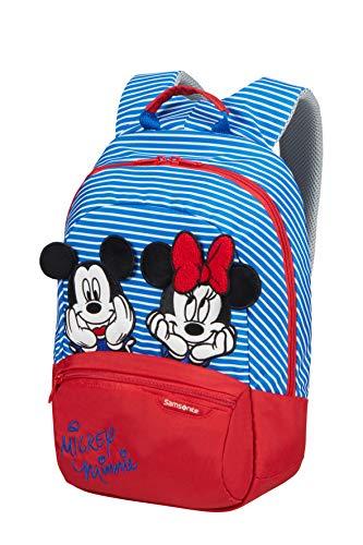 Samsonite Disney Ultimate 2.0 Zainetto per Bambini S+, 35 cm, 11 L, Multicolore (Minnie/Mickey Stripes)