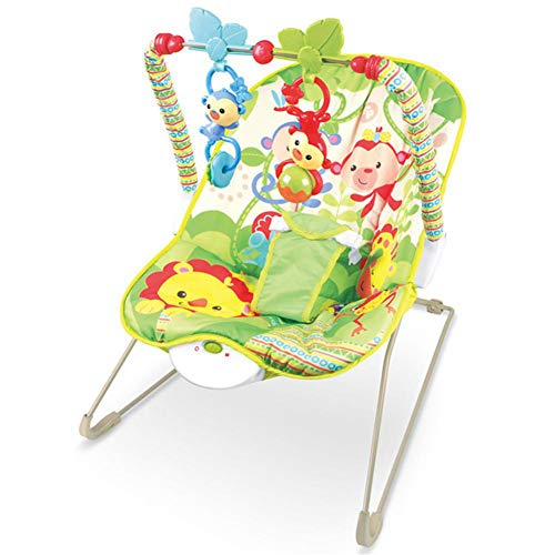C-Qing Baby Cradle Multi-Functional Music Electric Swing Appease Rocking Chair,Baby Bouncer for Boy&Girls,Best Infant Friend Toys,C