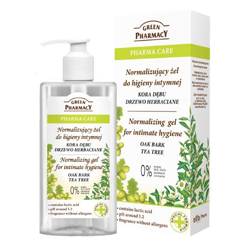 The Green Pharmacy Gel Higiene Intima a base de Corteza de R