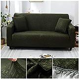 Funda de sofá elástica con patrón Cruzado Fundas de sofá elásticas con Todo Incluido para Sala...