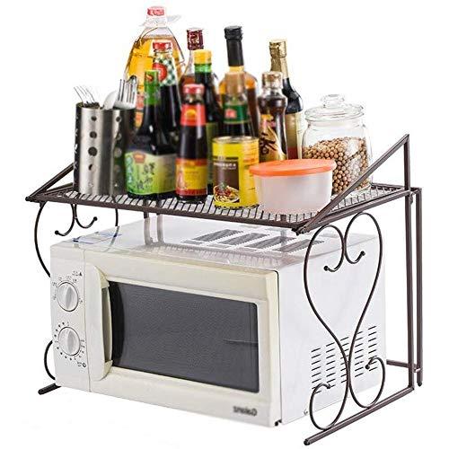 Metales Horno microondas Rack/estanterías estantes