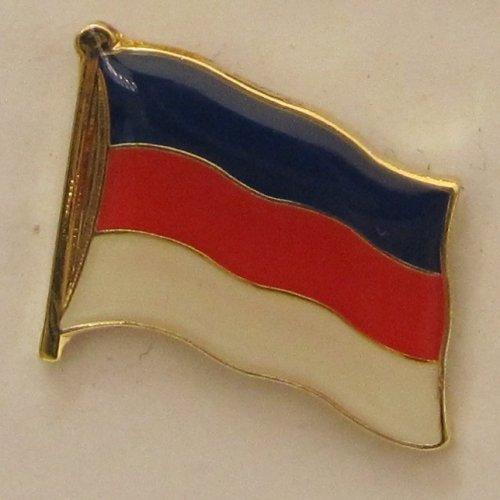 Pin Anstecker Flagge Fahne Sorben Sorbenland Flaggenpin Badge Button Flaggen Clip Anstecknadel