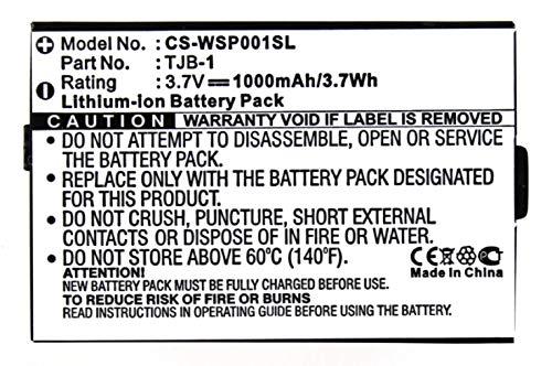 Accu compatibel met Hyundai TJB-1   3,7 Volt   1000 mAh   3,7 Wh Li-ion accu
